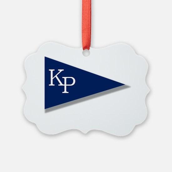 KP Birgie (Black Background) Ornament