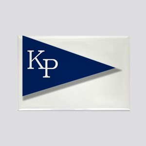KP Birgie (Black Background) Rectangle Magnet