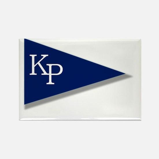 KP Birgie (Black Background) Rectangle Magnet