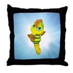 Baby Seahorse 2 Throw Pillow