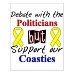 Debate Politicans Support Our Coasties Small Post