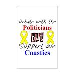Debate Politicans Support Our Coasties  Mini Poste