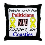 Debate Politicans Support Our Coasties  Throw Pill
