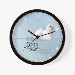 mal_modern_wall_clock_hell Wall Clock
