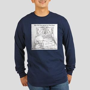 CN L to dogs Long Sleeve Dark T-Shirt
