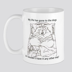 CN L to dogs Mug