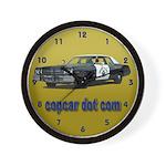copcar dot com Wall Clock