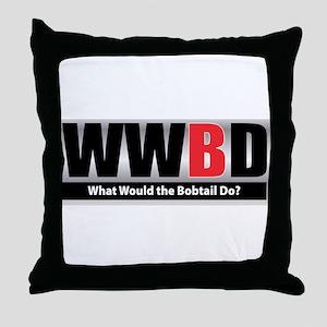 What Bobtail Throw Pillow