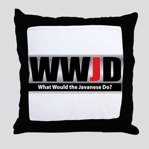 What Javanese Throw Pillow