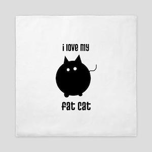 Fat Cat Queen Duvet