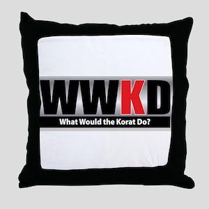 What Korat Throw Pillow