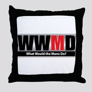 What Manx Throw Pillow