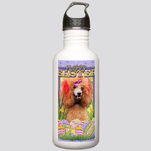 EasterEggCookiesPoodle Stainless Water Bottle 1.0L