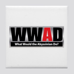 What Abyssinian Tile Coaster