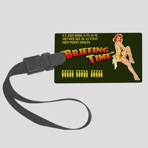 bomberbag Large Luggage Tag