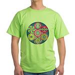 The Geometry Code - Green T-Shirt