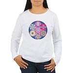 The Geometry Code - Women's Long Sleeve T-Shirt