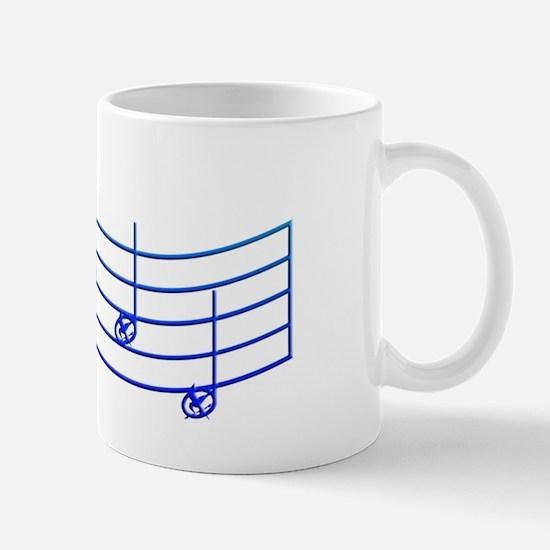 Rues Whistle Round Blue Mug