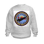USS MINNEAPOLIS-SAINT PAUL Kids Sweatshirt