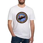 USS MINNEAPOLIS-SAINT PAUL Fitted T-Shirt