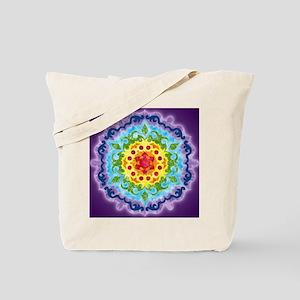 CrownMandalaClock Tote Bag