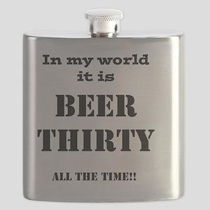 Beer Thirty Flask
