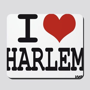 I love Harlem Mousepad
