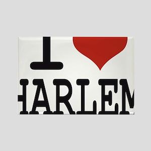 I love Harlem Rectangle Magnet