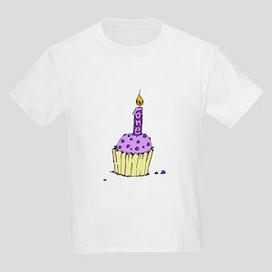Purple on Purple Kids T-Shirt