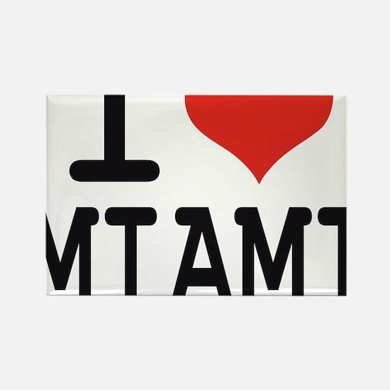 I love Miami Rectangle Magnet
