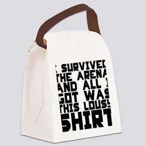 survived shirt Canvas Lunch Bag