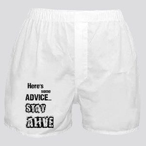 heres some advice Boxer Shorts