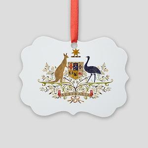 australia22 Picture Ornament