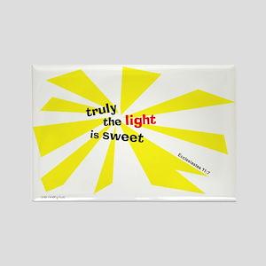 Light is sweet Rectangle Magnet