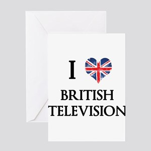 British tv greeting cards cafepress i love british television greeting cards m4hsunfo