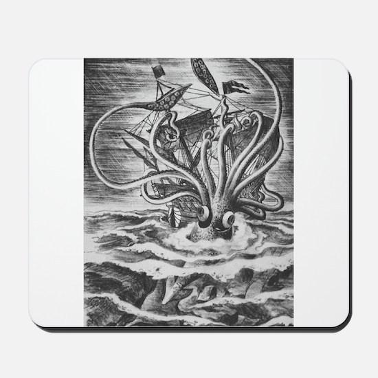 Giant Squid vs. Pirates b/w Mousepad