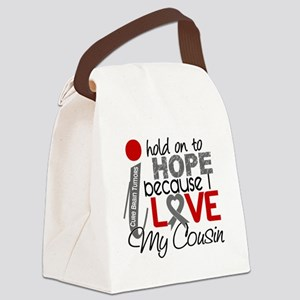 D Hope For My Cousin Brain Tumor Canvas Lunch Bag