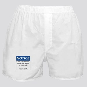 Hot or Drunk? Boxer Shorts