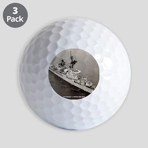 raowens dde framed panel print Golf Balls