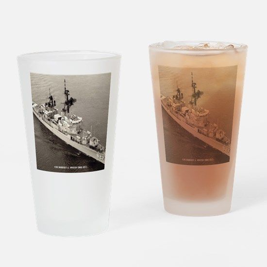 raowens dde framed panel print Drinking Glass