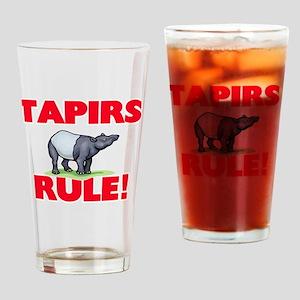 Tapirs Rule! Drinking Glass