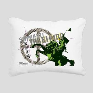 T-Shimazu Rectangular Canvas Pillow