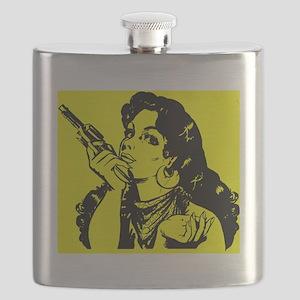 grrr-tile yellow Flask