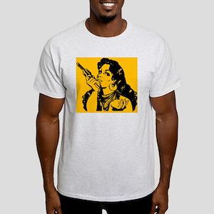 grrr-tile-orange Light T-Shirt