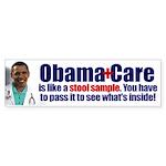 Obamacare Stool Sample Sticker (Bumper)