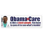 Obamacare Stool Sample Sticker (Bumper 10 pk)