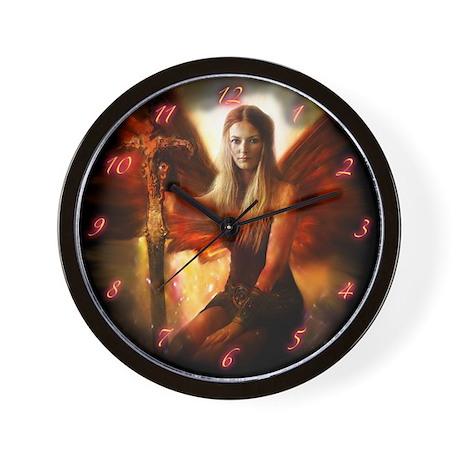 Maiden of the Sun Wall Clock