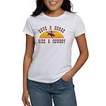 Save a horse ride a cowboy Women's T-Shirt