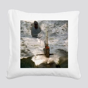 rbrussell framed panel print Square Canvas Pillow