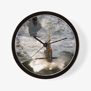 rbrussell framed panel print Wall Clock
